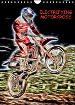 Electrifying Motorcross (Wall Calendar 2022 DIN A4 Portrait)