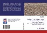 Nitrogen and sulphur effect on malt barley varieties Hordeum vulgare L
