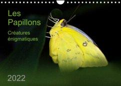 Les Papillons - créatures énigmatiques (Calendrier mural 2022 DIN A4 horizontal)