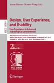 Design, User Experience, and Usability. User Experience in Advanced Technological Environments (eBook, PDF)