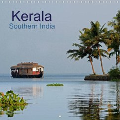 Kerala Southern India (Wall Calendar 2022 300 × 300 mm Square)