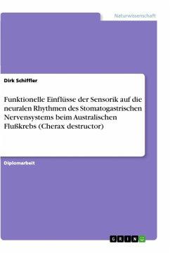 Funktionelle Einflüsse der Sensorik auf die neuralen Rhythmen des Stomatogastrischen Nervensystems beim Australischen Flußkrebs (Cherax destructor)