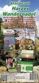 Starterset Harzer Wandernadel, m. 1 Buch, m. 1 Buch, m. 3 Karte