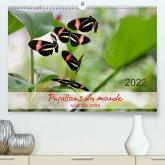 Papillons du monde, vus de près (Premium, hochwertiger DIN A2 Wandkalender 2022, Kunstdruck in Hochglanz)