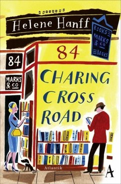 84, Charing Cross Road (Mängelexemplar) - Hanff, Helene