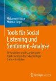 Tools für Social Listening und Sentiment-Analyse (eBook, PDF)