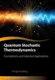 Quantum Stochastic Thermodynamics: Foundations and Selected Applications