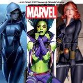 2022 Women of Marvel Wall