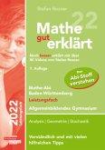 Mathe gut erklärt 2022 Leistungsfach Baden-Württemberg Gymnasium