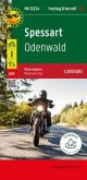 Spessart - Odenwald, Motorradkarte 1:200.000, freytag & berndt