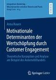 Motivationale Determinanten der Wertschöpfung durch Customer Engagement (eBook, PDF)