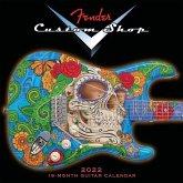 Fender Custom Shop Guitar 2022 Wall Calendar 16-Month