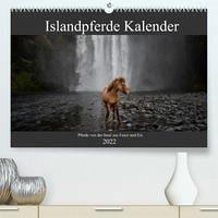 Islandpferde Kalender - Pferde von der Insel aus Feuer und Eis (Premium, hochwertiger DIN A2 Wandkalender 2022, Kunstdruck in Hochglanz)