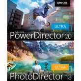 CyberLink PowerDirector 20 Ultra & PhotoDirector 13 Ultra Duo (Download für Windows)