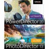 CyberLink PowerDirector 20 Ultimate & PhotoDirector 13 Ultra Duo (Download für Windows)