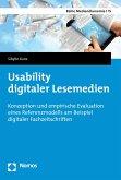 Usability digitaler Lesemedien (eBook, PDF)