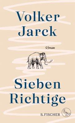 Sieben Richtige (Mängelexemplar) - Jarck, Volker