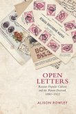 Open Letters: Russian Popular Culture and the Picture Postcard, 1880-1922