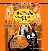 Ein Fall für Katzendetektiv Ra - Der große Grabraub, 1 MP3-CD