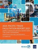 Asia-Pacific Trade Facilitation Report 2021: Supply Chains of Critical Goods Amid the COVID-19 Pandemic-Disruptions, Recovery, and Resilience
