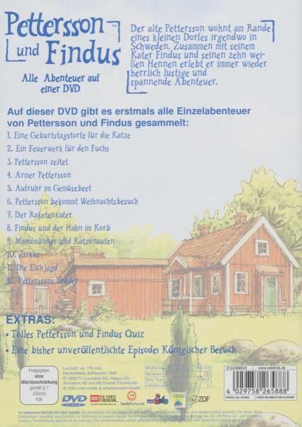 pettersson und findus staffel 1 film auf dvd. Black Bedroom Furniture Sets. Home Design Ideas