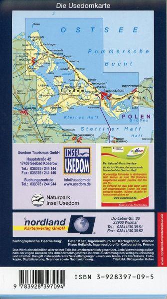 Insel Usedom Karte.Nordland Karte Usedom
