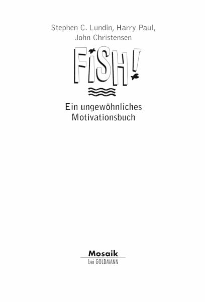 Fish stephen lundin harry paul pdf free