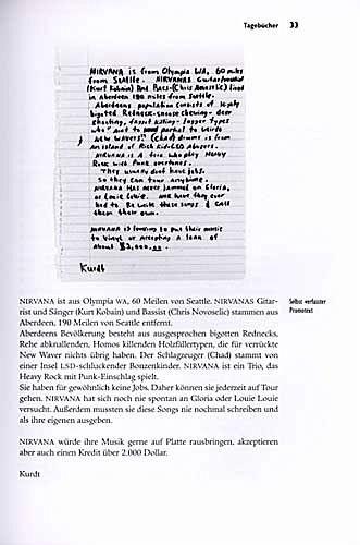 Rock And Roll Games >> Die Tagebücher von Kurt Cobain als Taschenbuch - Portofrei ...