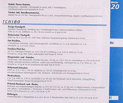 Discounter planer 2004 buch for Haushaltsartikel auf rechnung
