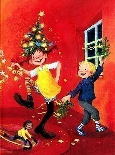 pippi langstrumpf feiert weihnachten von astrid lindgren. Black Bedroom Furniture Sets. Home Design Ideas