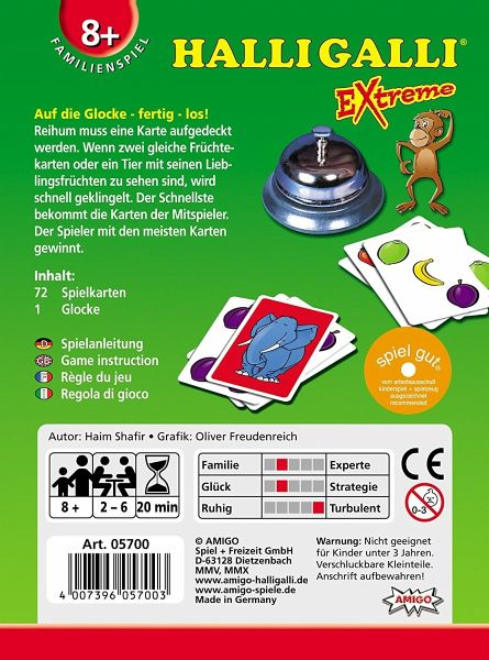 Halli Galli Extreme (Spiel) - buecher.de