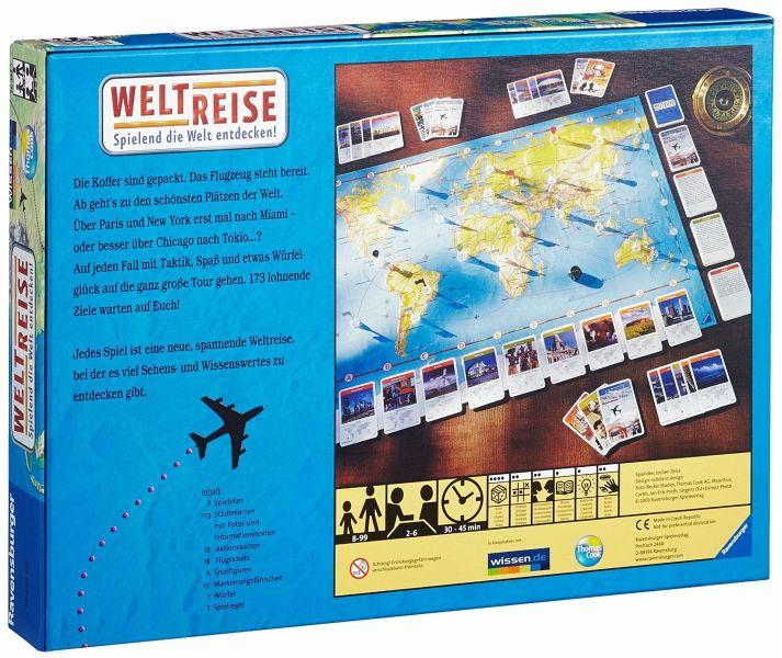 Weltreise Spiel