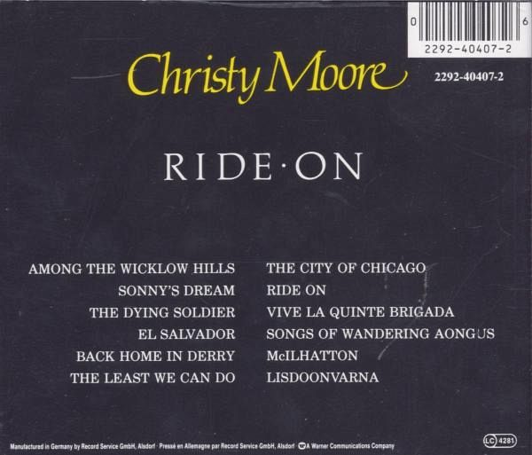 christy moore ride on - photo #28