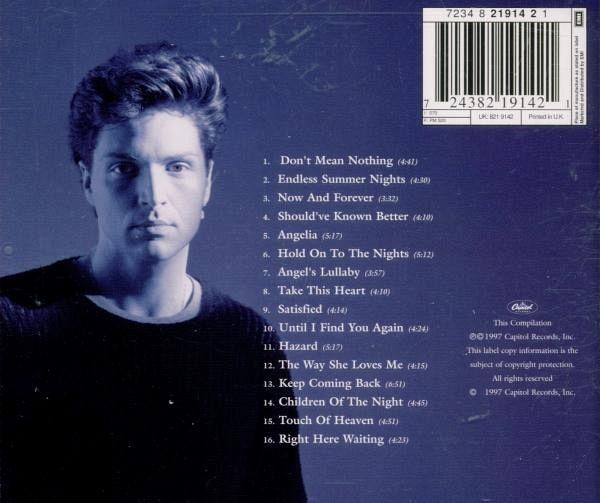 greatest hits von richard marx cd buecherde