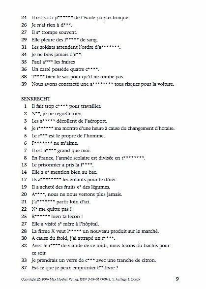 Flirten auf französisch buch