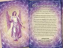 24 St/ück Postkarten Block Engel Schutzengel Engelkarten Motivations-Karten 10,5 x 14,8 cm Postkartenbuch zum Verschenken als Adventskalender Spr/üche Weihnachten als Geschenk