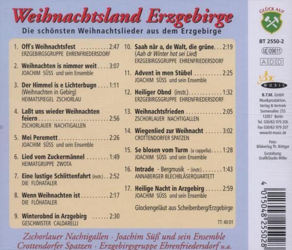 Geschwister Caldarelli / Hans Friedl - Weihnachtszeit Im Erzgebirge