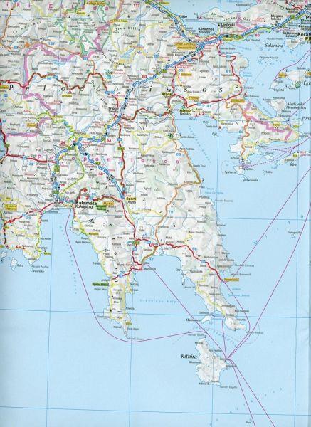 Karte Griechenland.Adac Karte Griechenland