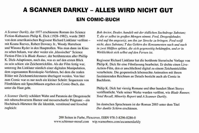 A Scanner Darkly [Alles wird nicht gut] von Philip K. Dick - Buch ...