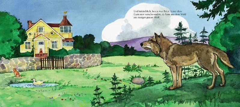 Peter Und Der Wolf Cd Von Sergej Prokofjew Buch border=