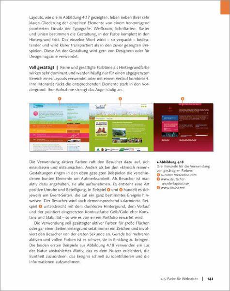 Modernes Webdesign von Manuela Hoffmann - Buch - buecher.de