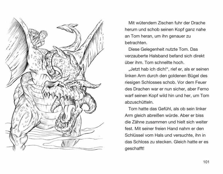 Ferno Herr Des Feuers Beast Quest Bd 1 Von Adam Blade Portofrei