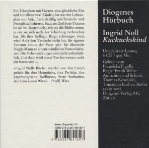 kuckuckskind 6 audio cds von ingrid noll h rbuch. Black Bedroom Furniture Sets. Home Design Ideas