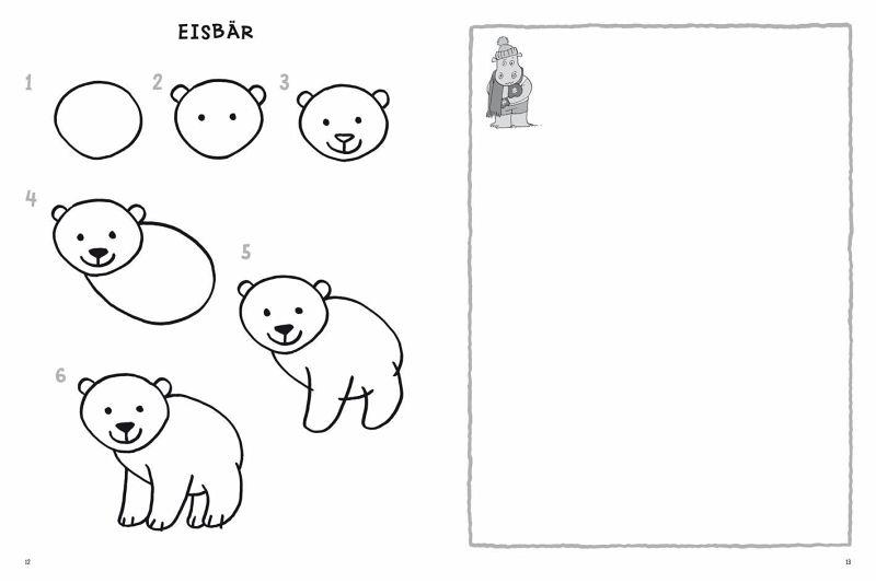 Tiere zeichnen - Schritt-für-Schritt von Norbert Pautner