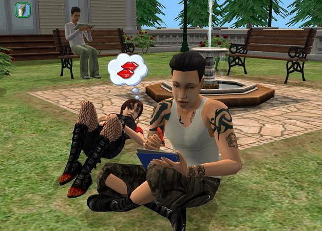 Die Sims 2 Erwachsene gehen stetig
