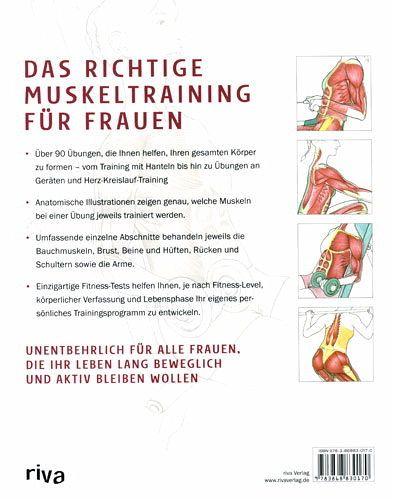 Anatomie für Fitness-, Kraft- und Muskeltraining für Frauen von Mark ...