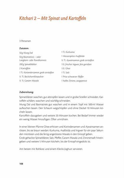 Der schatz der ayurveda kuche von sandra hartmann buch for Ayurveda küche