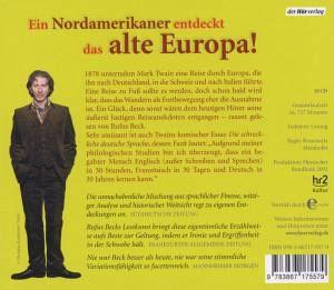bummel durch europa 10 audio cds von mark twain h rbuch. Black Bedroom Furniture Sets. Home Design Ideas
