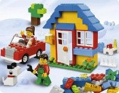 lego steine co 5899 bausteine haus. Black Bedroom Furniture Sets. Home Design Ideas