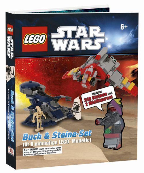 lego star wars buch mit lego steine set portofrei bei. Black Bedroom Furniture Sets. Home Design Ideas